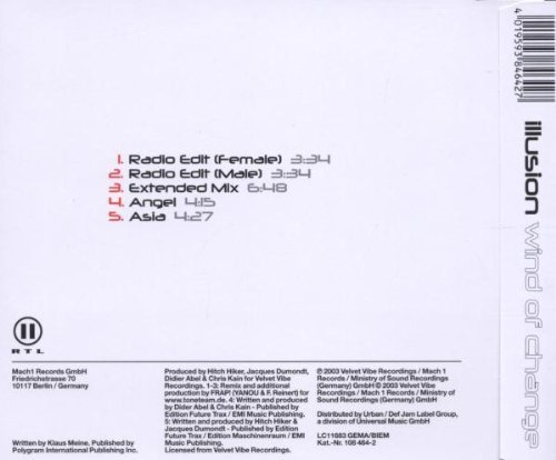 Bild 2: Illusion, Wind of change 2003