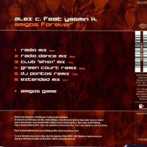 Bild 2: Alex C., Amigos forever (2002, feat. Yasmin K.)