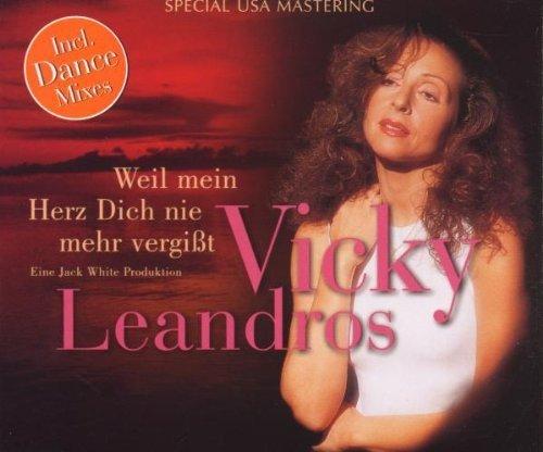 Bild 1: Vicky Leandros, Weil mein Herz dich nie mehr vergißt (my heart will go on; incl. Dance Mixes, 1998)