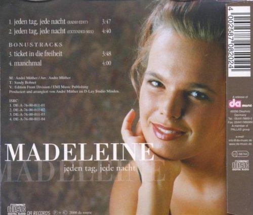 Bild 2: Madeleine, Jeden Tag, jede Nacht (2000)