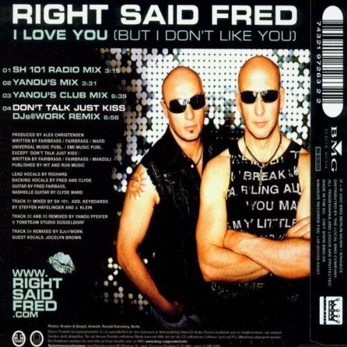 Фото 2: Right said Fred, I love you.. (2002)