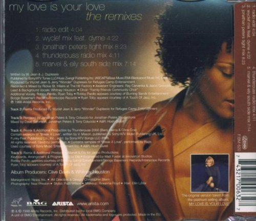 Bild 2: Whitney Houston, My love is your love (1999, #1700632)