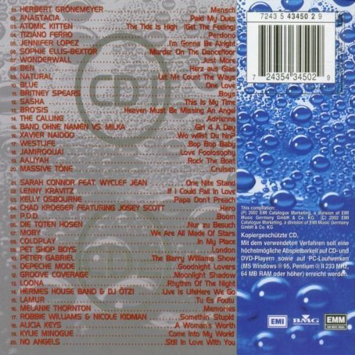 Bild 2: Best of 2002, Herbert Grönemeyer, Anastacia, Atomic Kitten, Tiziano Ferro, Jennifer Lopez, Sophie Ellis-Bextor, Ben, Bro'sis..