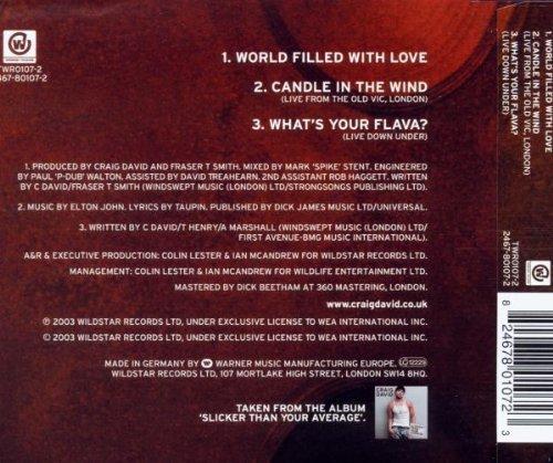 Bild 2: Craig David, World filled with love (2003)