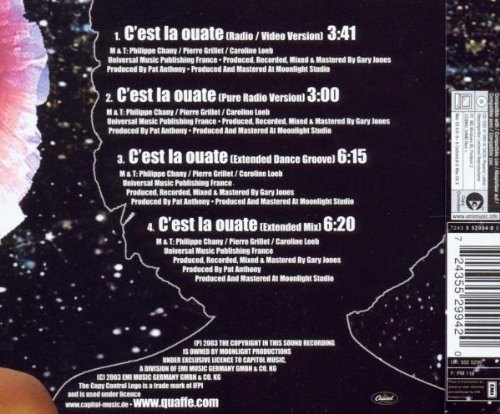 Bild 2: Quaffe, C'est la ouate (2003)