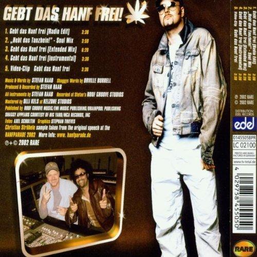 Bild 2: Stefan Raab, Gebt das Hanf frei (2002, feat, Shaggy)