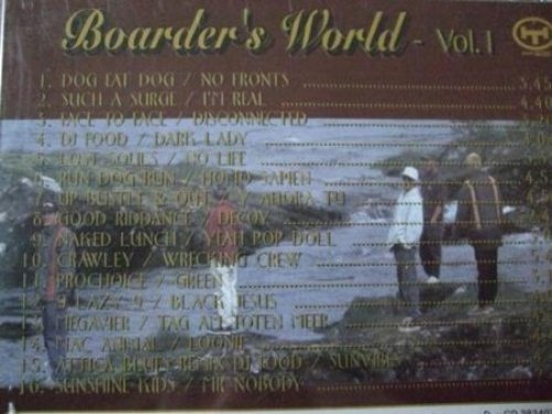 Bild 2: Boarders World 1 (1995), Dog Eat Dog, Such a Surge, Lost Souls, Crawley, Megavier..