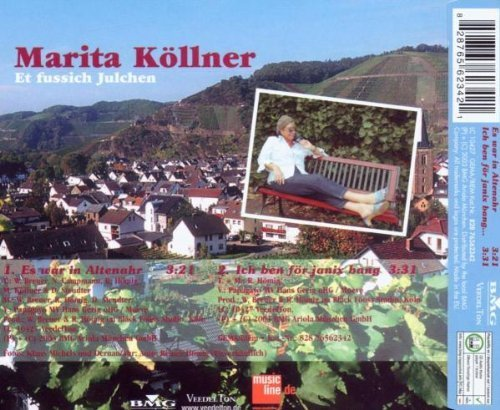Bild 2: Marita Köllner, Es war in Altenahr (2 track, 2003)