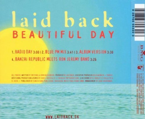 Image 2: Laid Back, Beautiful day (2003)