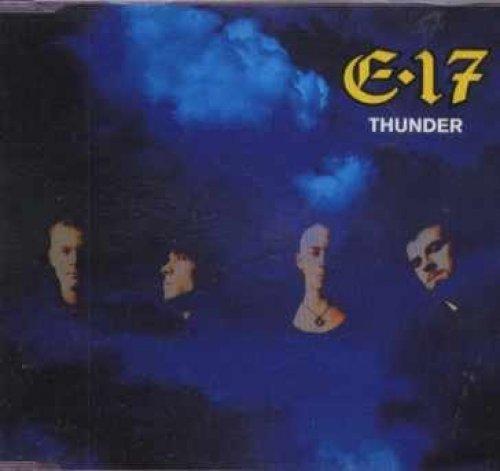 Bild 1: E.17, Thunder (1995; 2 tracks, cardsleeve)