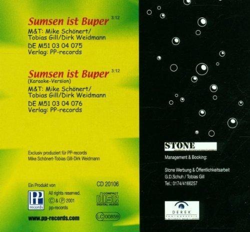 Bild 2: Andy, Sumsen ist Buper (2001; 2 tracks)