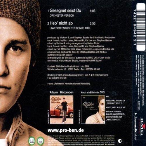 Bild 2: Ben, Gesegnet seist du (2002; 2 tracks)