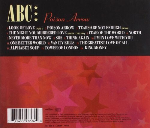 Image 2: ABC, Poison arrow (compilation, 16 tracks, 1981-89/2002)