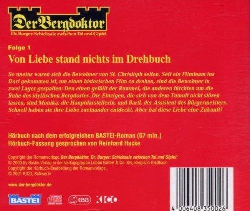 Image 2: Der Bergdoktor-Dr. Burger: Schicksale zwischen Tal u. Wipfel, Folge 1-Von Liebe stand nichts im Drehbuch