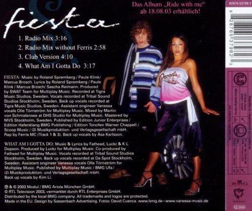 Bild 2: Vanessa S., Fiesta (2003, feat. Ferris MC)