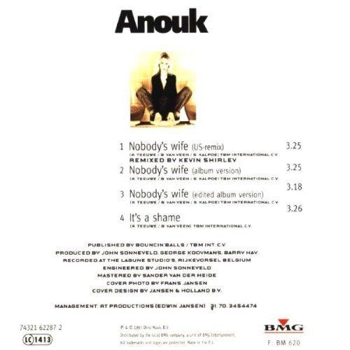 Bild 2: Anouk, Nobody's wife (1997, #1622872)