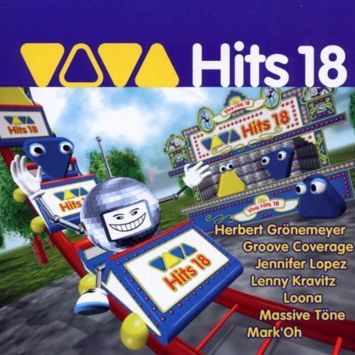Bild 1: Viva Hits 18 (2002), Herbert Grönemeyer, Groove Coverage, Jennifer Lopez, Loona, Atomic Kitten, Alex Butcher..