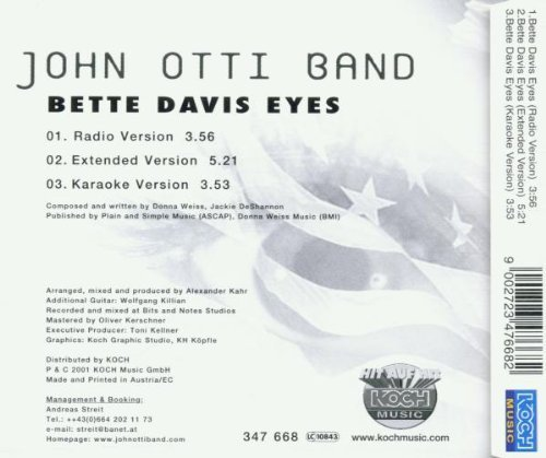 Bild 2: John Otti Band, Bette Davis eyes (2001)