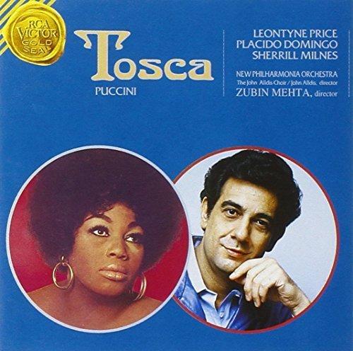Bild 1: Puccini, Tosca (RCA Victor, 1973) New Philharmonia Orch./Mehta, Leontyne Price, Plácido Domingo..