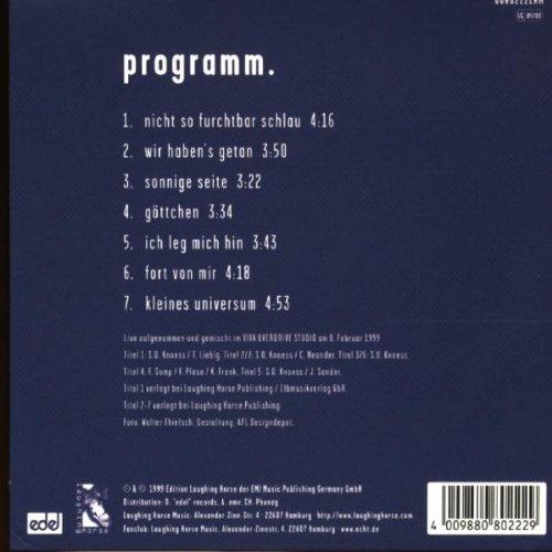 Bild 2: Echt, Live bei overdrive (7 tracks, 1999)