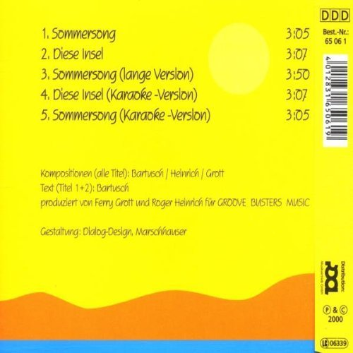 Image 2: Bele Be, Sommersong (2000)