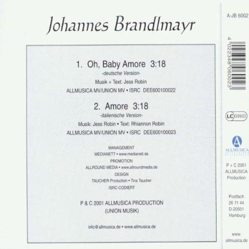 Bild 2: Johannes Brandlmayr, Oh, Baby Amore/Amore (2001)