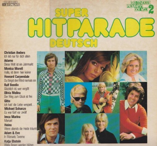 Image 1: Das teuerste Programm der Welt 2-Super Hitparade Deutsch, Christian Anders, Adamo, Monica Morell, Howard Carpendale, Ralf Bendix, Gitte, Katja Ebstein..