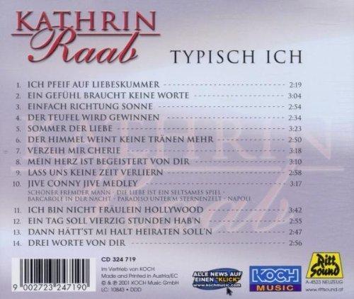 Bild 2: Kathrin Raab, Typisch ich (2001)