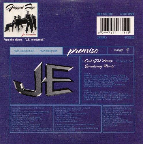 Bild 2: Jagged Edge, Promise (2 tracks, 2000, cardsleeve)