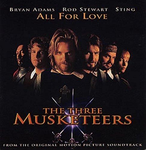 Bild 1: Bryan Adams, All for love (1993; 2 tracks, & Rod Stewart, Sting)