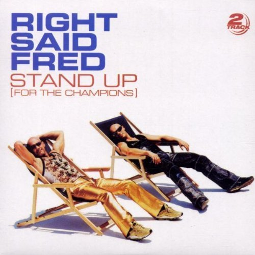 Bild 1: Right said Fred, Stand up.. (2002; 2 tracks, cardsleeve)