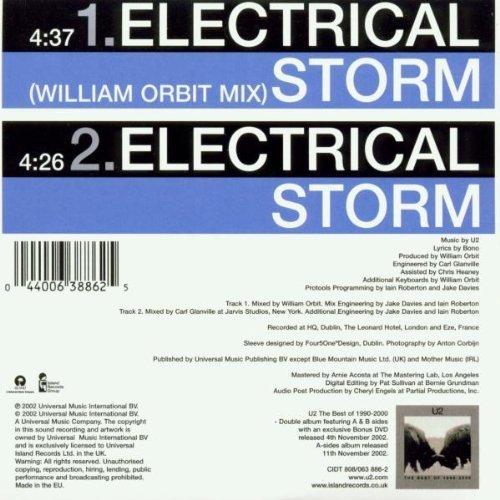 Bild 2: U2, Electrical storm (2002, #0638862, cardsleeve)