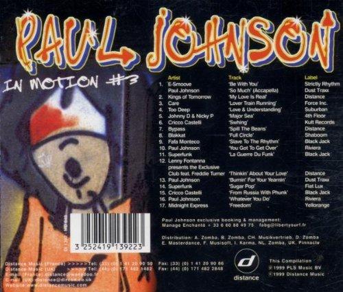 Фото 2: Paul Johnson, In motion #3 (mix, 1999)