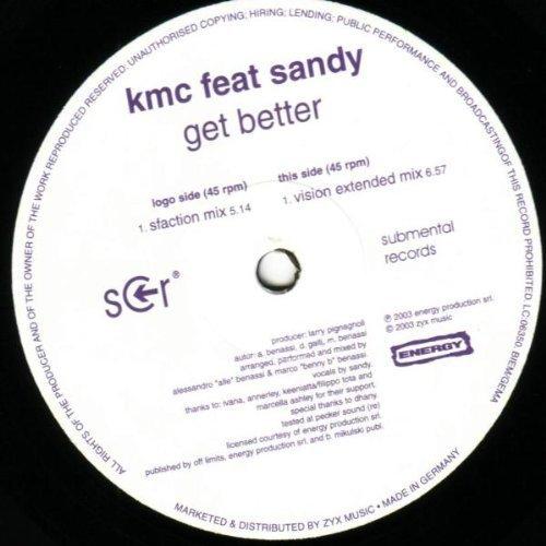 Bild 1: KMC, Get better (#zyx/smr014r, feat. Sandy)