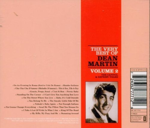 Bild 2: Dean Martin, Very best of-The Capitol & Reprise years 2 (21 tracks)