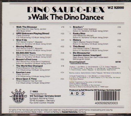 Bild 2: Dino Sauro-Rex, Walk the dino dance (1993)