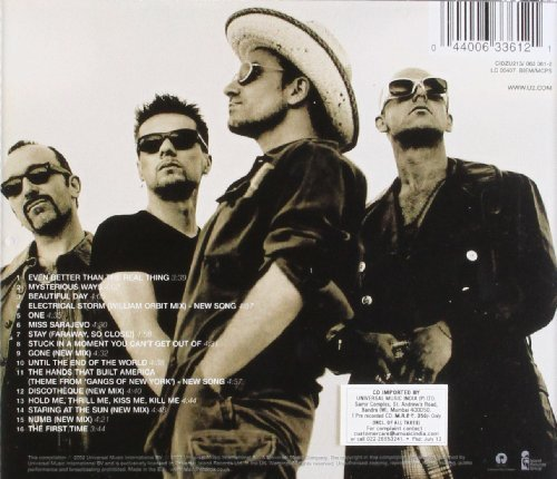Bild 2: U2, Best of 1990-2000 (#633612)