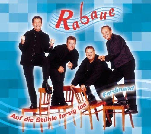 Bild 1: Rabaue, Auf die Stühle fertig los/Ferdinand (4 tracks, 2001)