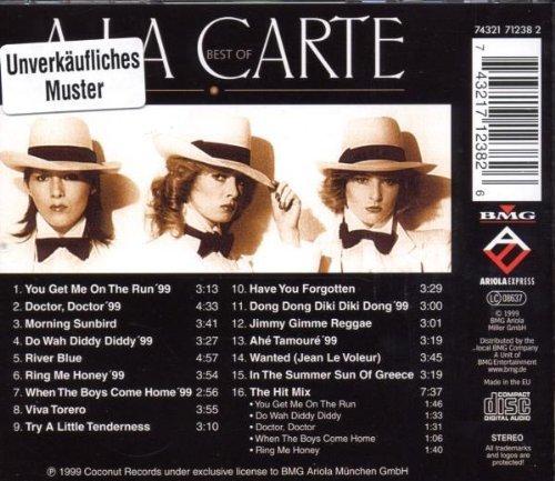 Bild 2: À la Carte, Best of (16 tracks, 1999, BMG/AE)