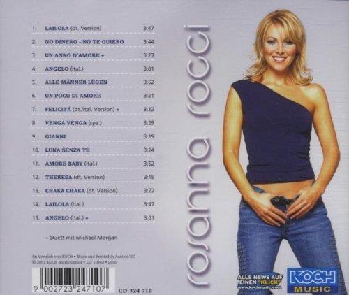 Bild 2: Rosanna Rocci, Un poco di amore (2001, feat. Michael Morgan)