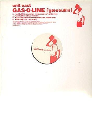 Bild 1: Unit East, Gasoline (Die Raketen-When I took my Heroin RMX/Orig./Milan East feat. Kimo Green RMX/Kid Alex Remix, 2003)