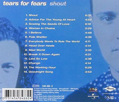Bild 2: Tears for Fears, Shout (compilation, 14 tracks, 1983-93/2001)