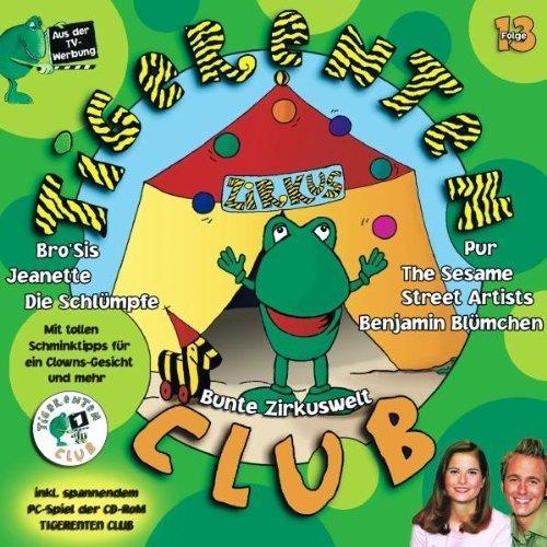 Bild 1: Tigerentenclub 13 (2002), Trio Kunterbunt, Volker Rosin, Die Schlümpfe, Rosenstolz, Pur, Jeanette..