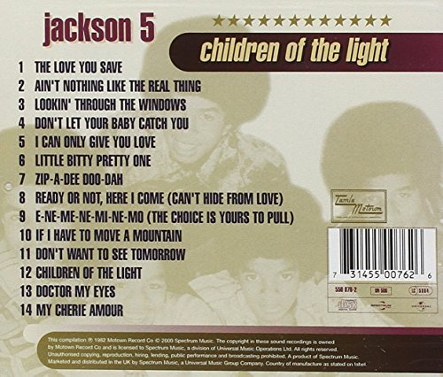 Bild 2: Jackson 5, Children of the light (compilation, 14 tracks, 1969-72/82/2000)