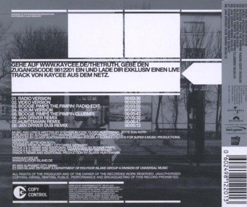Image 2: KayCee, Truth (8 versions, 2003)