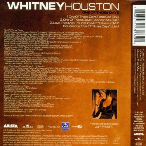 Bild 2: Whitney Houston, One of those days (2002)