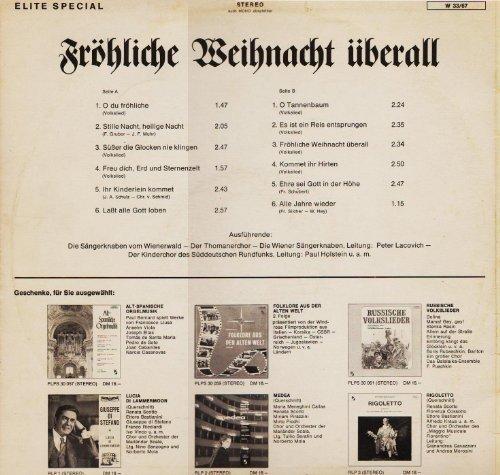 Bild 4: Wiener Sängerknaben, Fröhliche Weihnacht überall