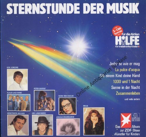 Bild 1: Sternstunde der Musik (1986), Udo Jürgens, Klaus Lage Band, Peter Maffay, Udo Lindenberg, Konstantin Wecker..