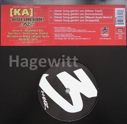 Image 2: [Ka], Dieser Song gehört uns (4 versions, 2001)
