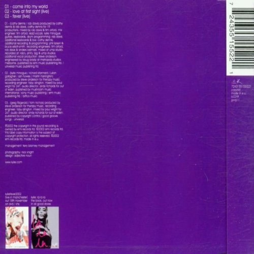 Bild 2: Kylie Minogue, Come into my world (2002, CD2)
